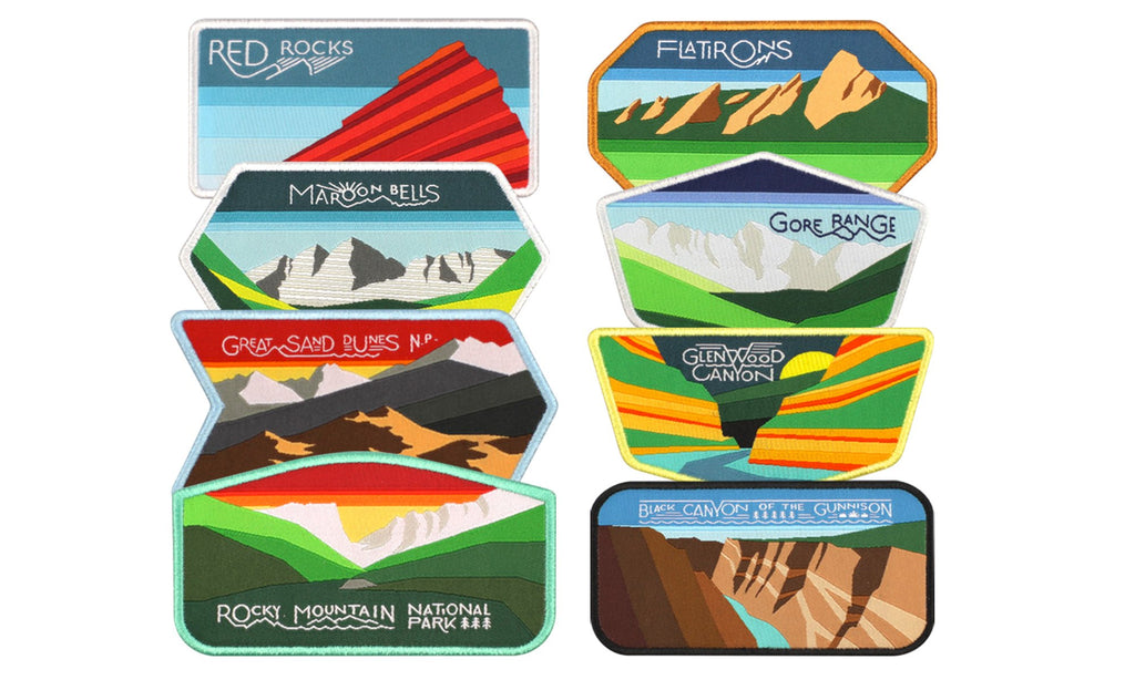 COLORFUL COLORADO PATCH SUPER PACK