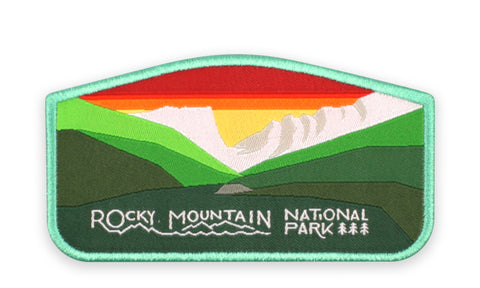 ROCKY MOUNTAIN NATIONAL PARK PATCH