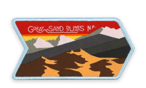 GREAT SAND DUNES N.P. PATCH