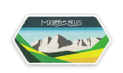 MAROON BELLS PATCH