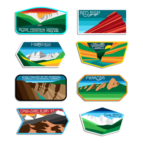 COLORFUL COLORADO DECAL PACK