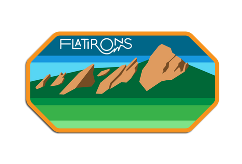 FLATIRONS DECAL