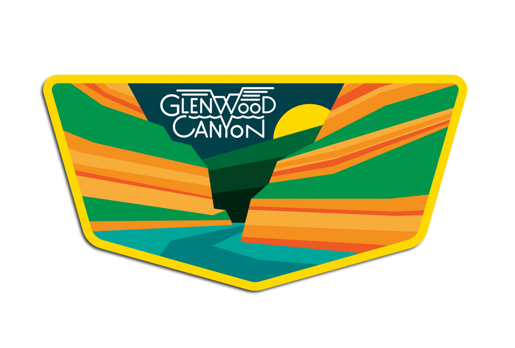 GLENWOOD CANYON DECAL