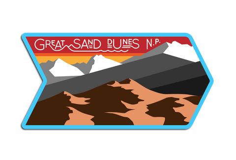 GREAT SAND DUNES N.P. DECAL