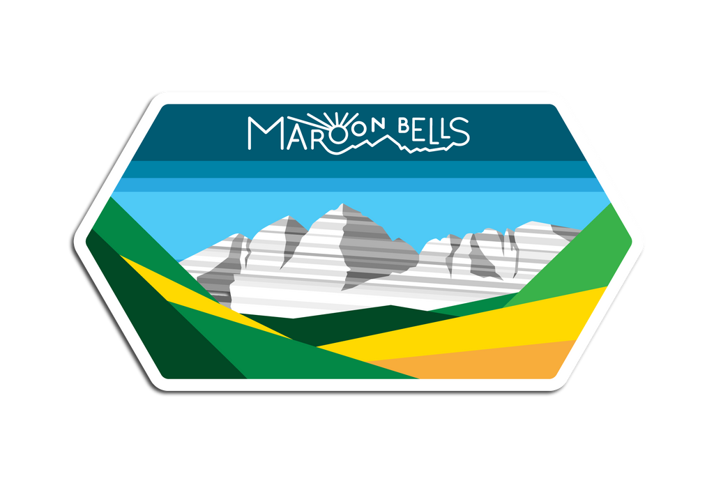 MAROON BELLS DECAL