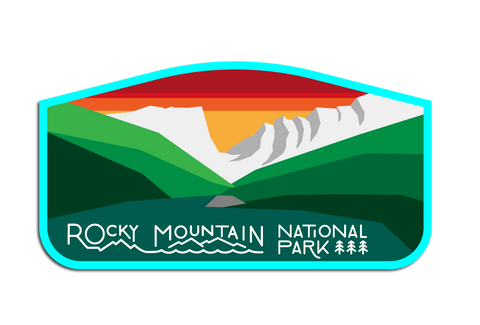 ROCKY MOUNTAIN N.P. DECAL