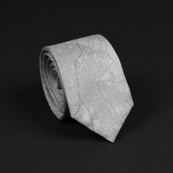 DALLAS STREET MAP TIE