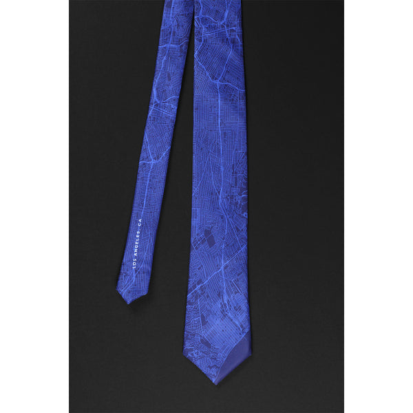 LOS ANGELES STREET MAP TIE