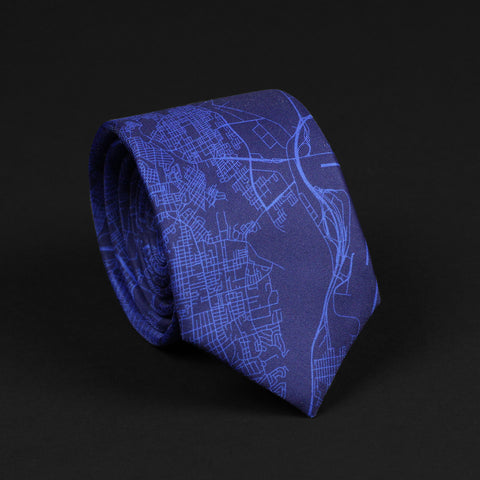 PHILADELPHIA STREET MAP TIE