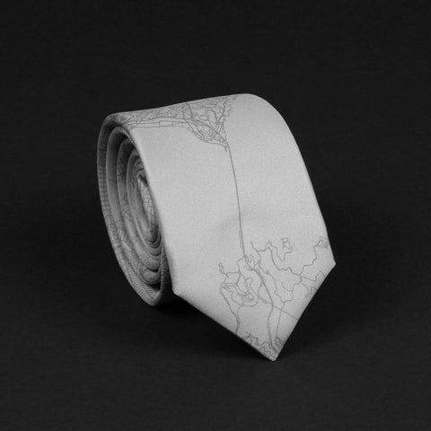 SAN FRANCISCO STREET MAP TIE