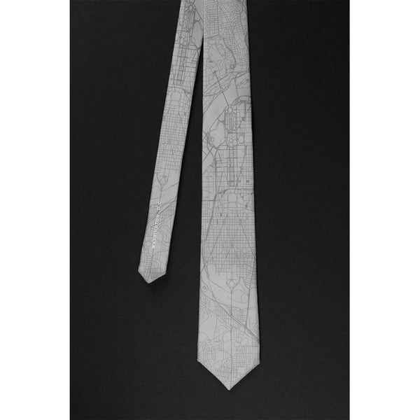 WASHINGTON D.C. STREET MAP TIE