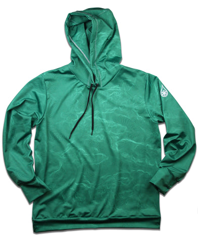 NATIONAL PARK TOPO HOODIE / GREEN