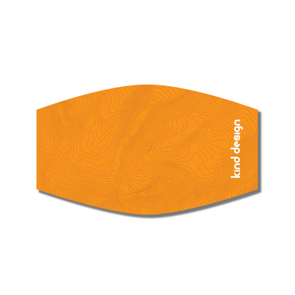 TOPO MASK / ORANGE / SL