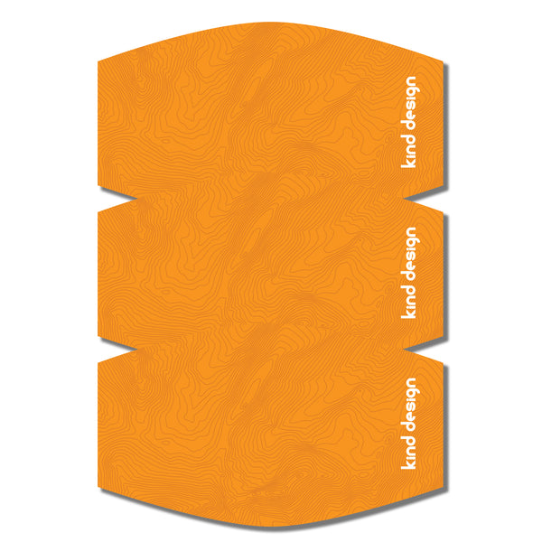 TOPO MASK / ORANGE / SL / 3 PACK