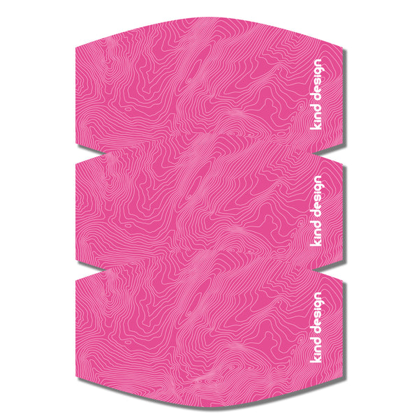 TOPO MASK / PINK / SL / 3 PACK