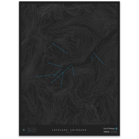 LOVELAND COLORADO - TOPO MAP