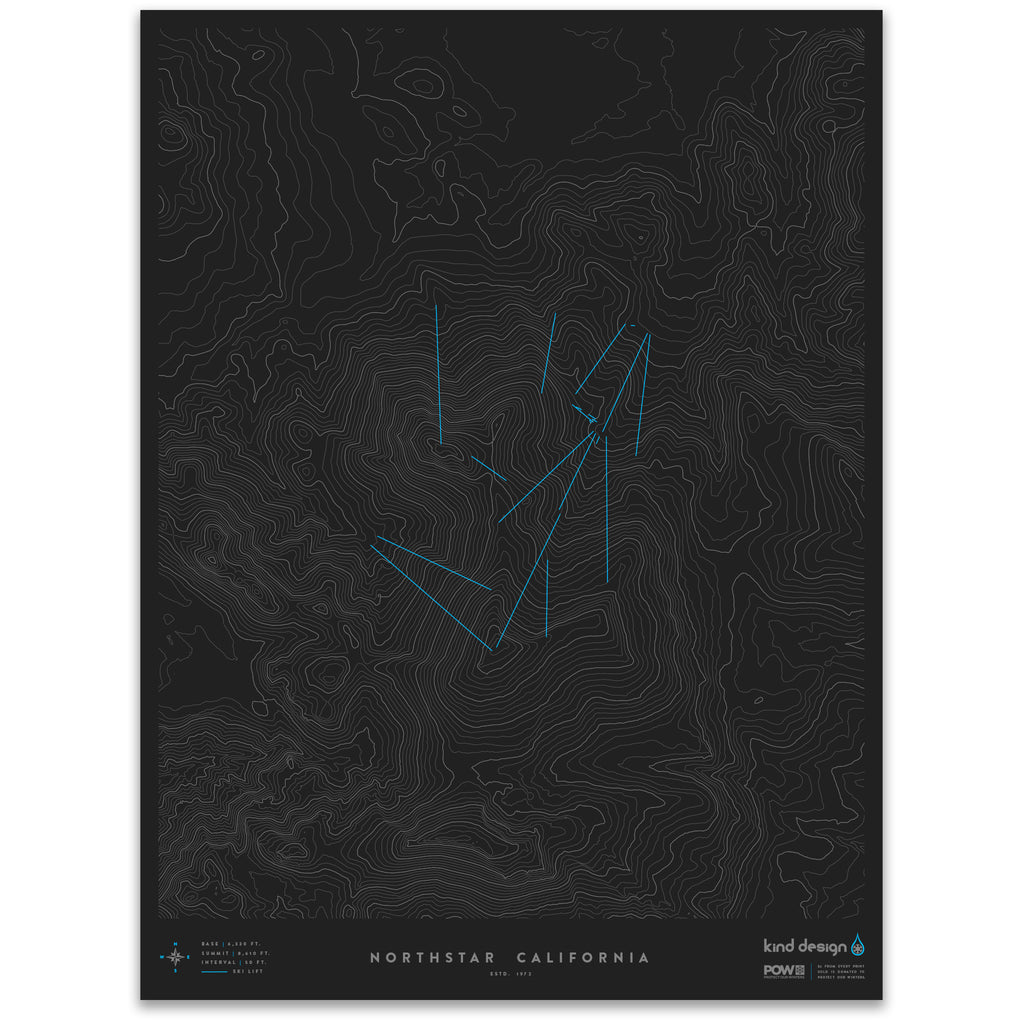 NORTHSTAR CALIFORNIA - TOPO MAP
