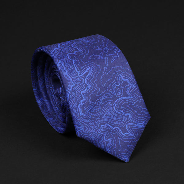 GRAND CANYON NATIONAL PARK TOPO TIE