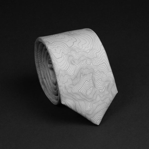 GRAND TETON NATIONAL PARK TOPO TIE