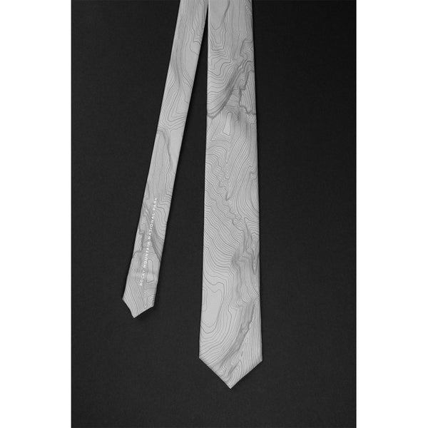 ROCKY MOUNTAIN NATIONAL PARK TOPO TIE