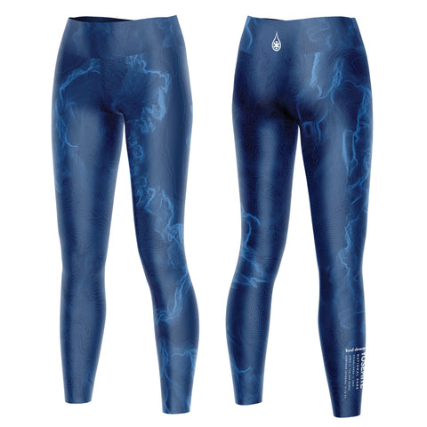 NATIONAL PARK TOPO LEGGING / NAVY