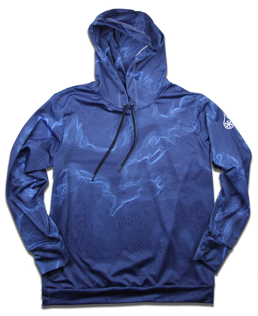 NATIONAL PARK TOPO HOODIE / NAVY