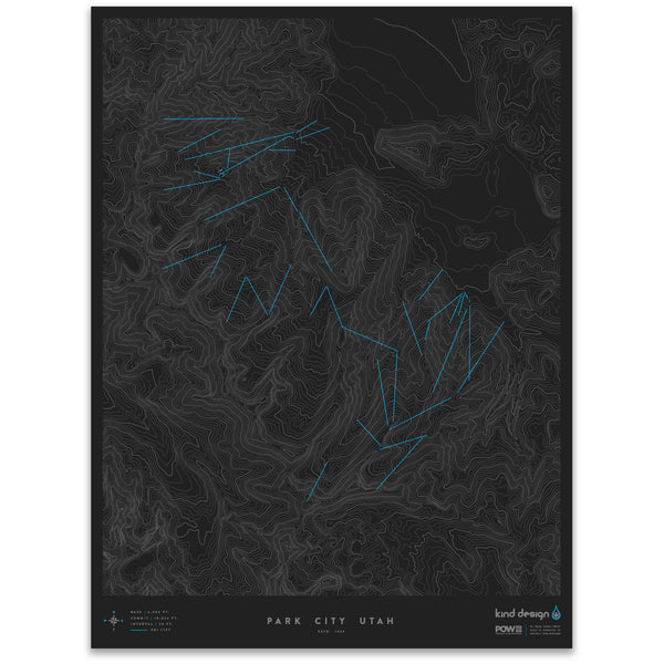 PARK CITY UTAH - TOPO MAP