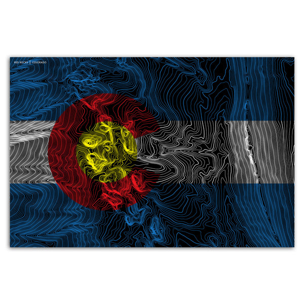 Colorado Flag Topo Maps