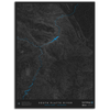 SOUTH PLATTE RIVER TOPO MAP - NORTH FORK, CO