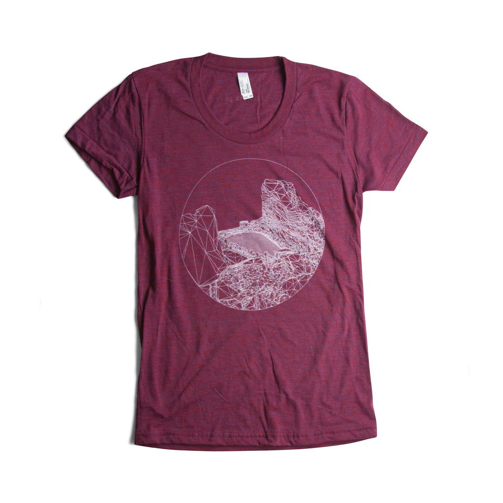 THE ROCKS WOMEN'S T-SHIRT