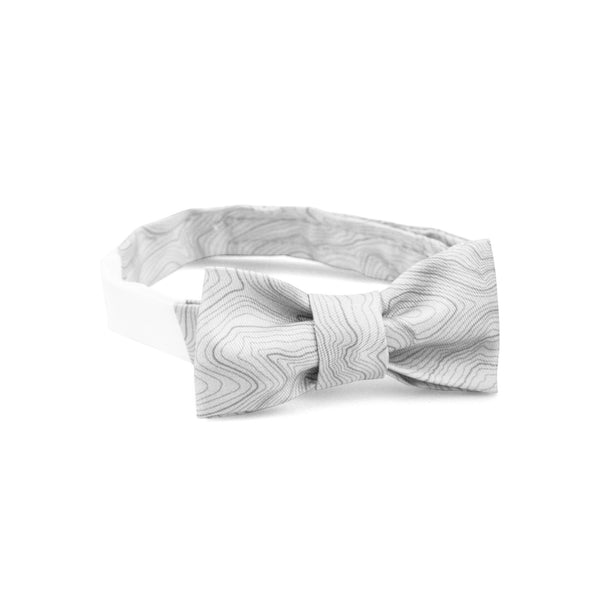 CUSTOM TOPO BOW TIE - YOUTH
