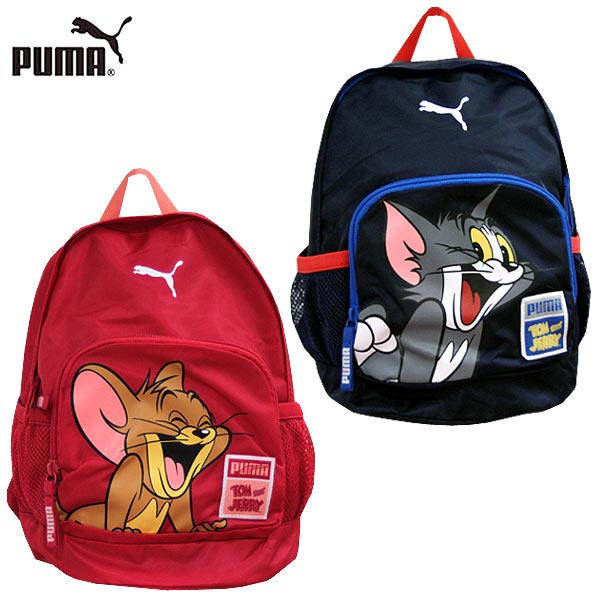 Puma Tom and Jerry Small Children's Backpack  Pink 073202-02