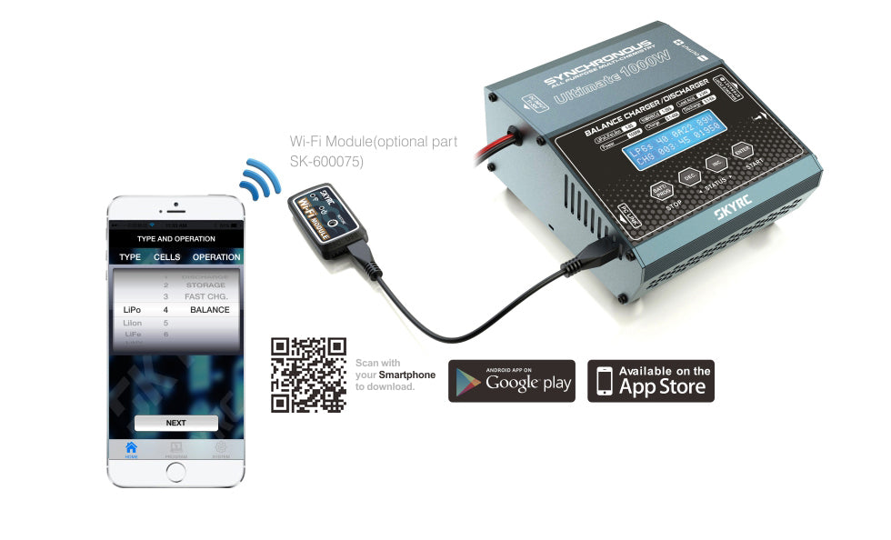 SkyRC Synchronous DC Charger 1000W 40A