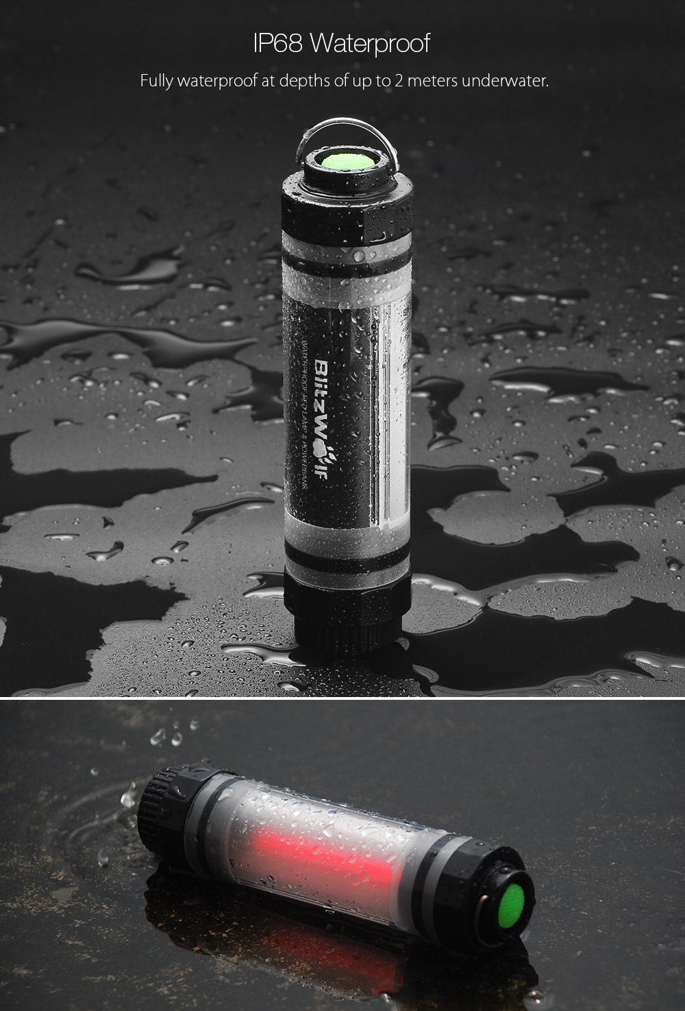 BlitzWolf LT5 Waterproof Powerbank and Emergency Lamp BlitzWolf  BlitzWolf