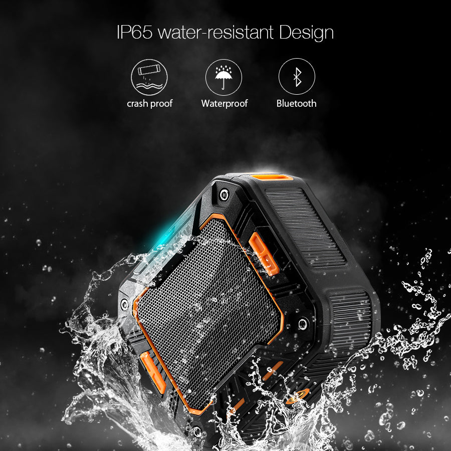 BlitzWolf® BW-F2 IP65 Waterproof Outdoor 2000mAh Hands-Free Wireless Bluetooth Speaker
