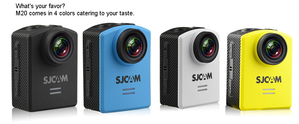 Original SJCAM M20 2160P 24FPS NTK96660 Action Sport Camera Waterproof DV