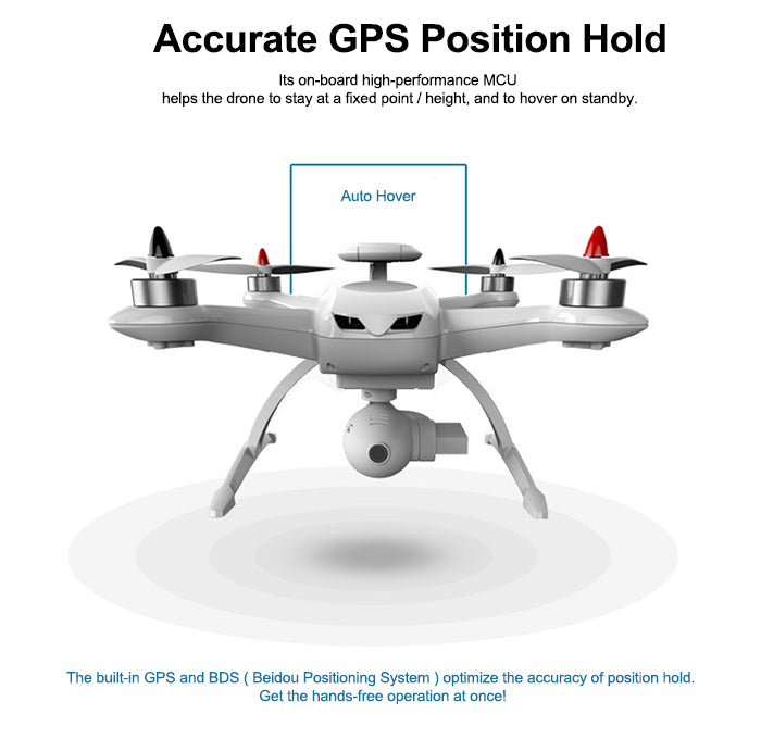 AOSENMA CG035 Brushless Double GPS 5.8G FPV With 1080P HD Gimbal Camera Follow Me Mode RC Quadcopter