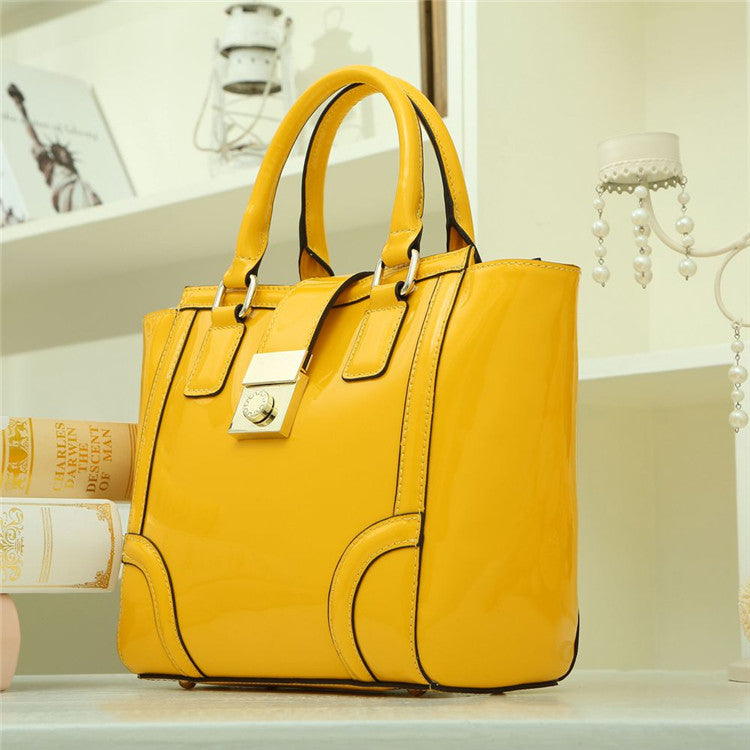 Genuine Leather Handbag 'Maria'