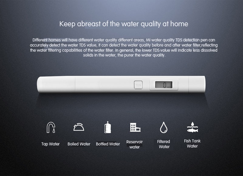 Xiaomi Mi TDS Water Quality Tester Pen