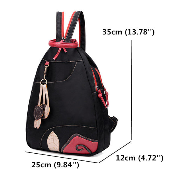 Women's Waterproof Leaf Backpack