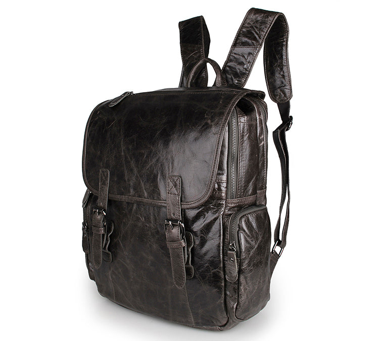 'Inca' Leather Backpack