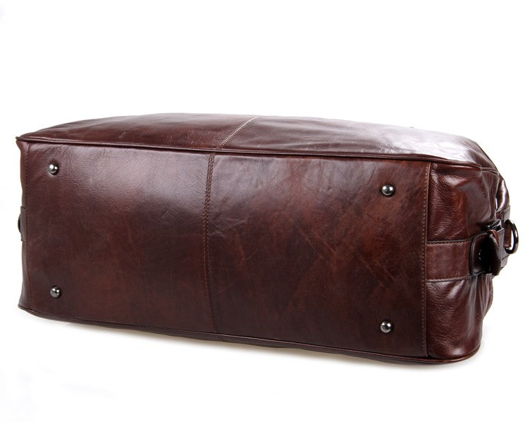Hermes Leather Travel Bag