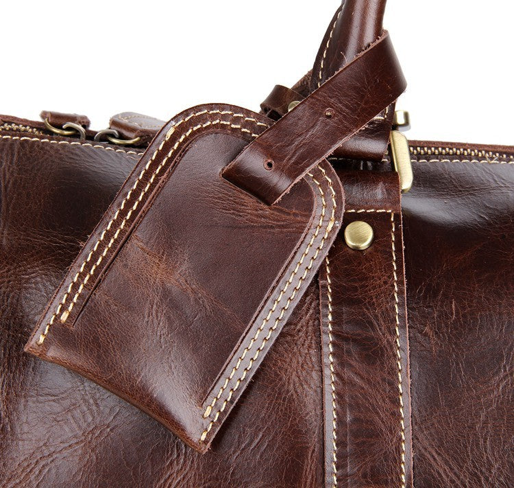 Atlas Leather Travel Bag Holdall