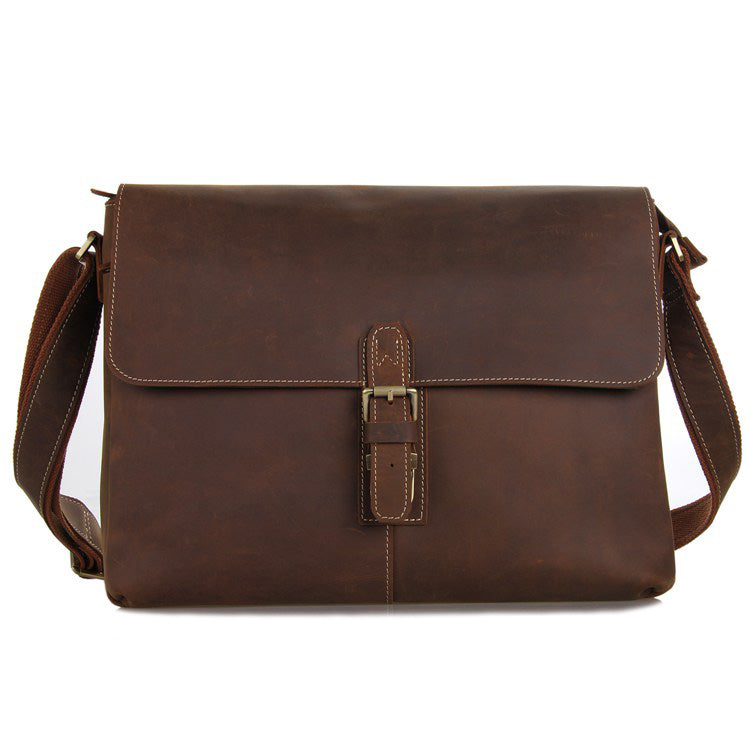 Shadow Brown Messenger Bag