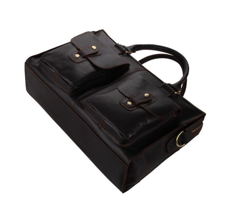 Conrad Leather Briefcase