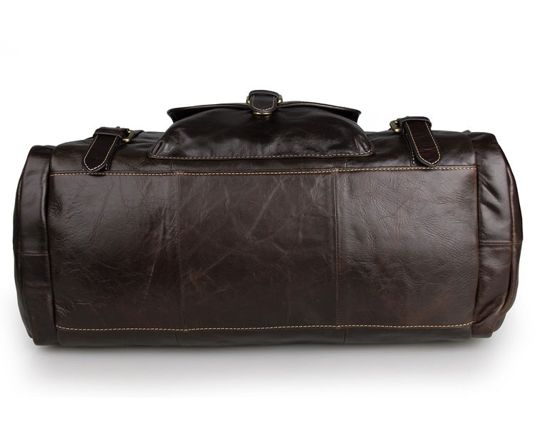 New South Wales Leather Travel Bag