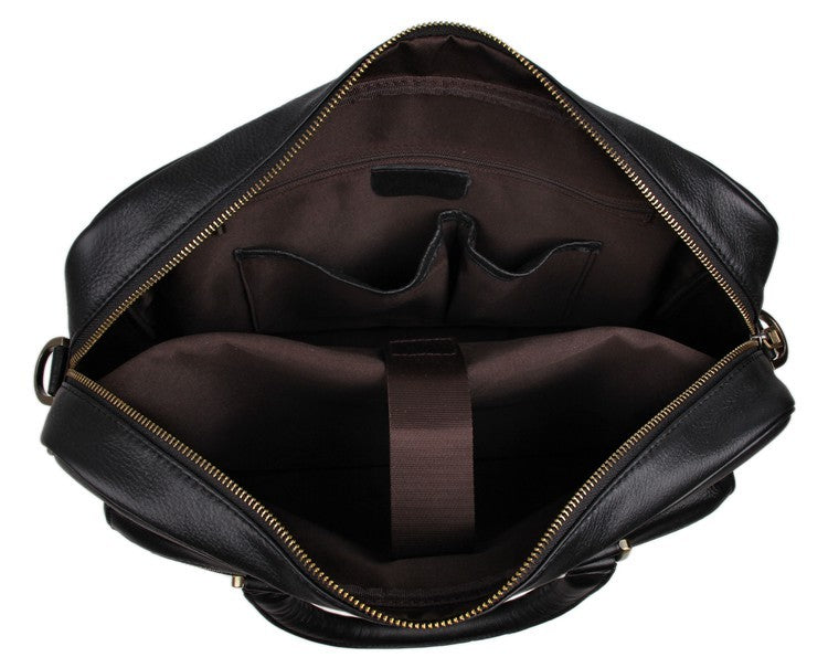 'Mayfair' Leather Business Bag