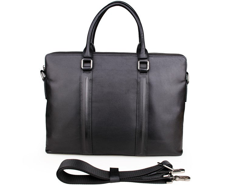 'Alassio' Leather Business Briefcase