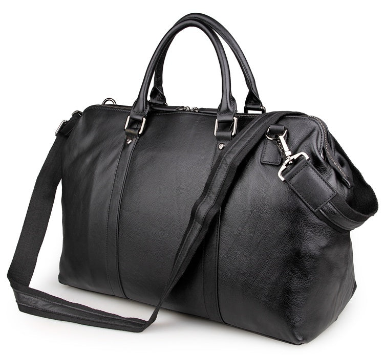 Viator Leather Duffel Bag Travel Bag Overnight Bag
