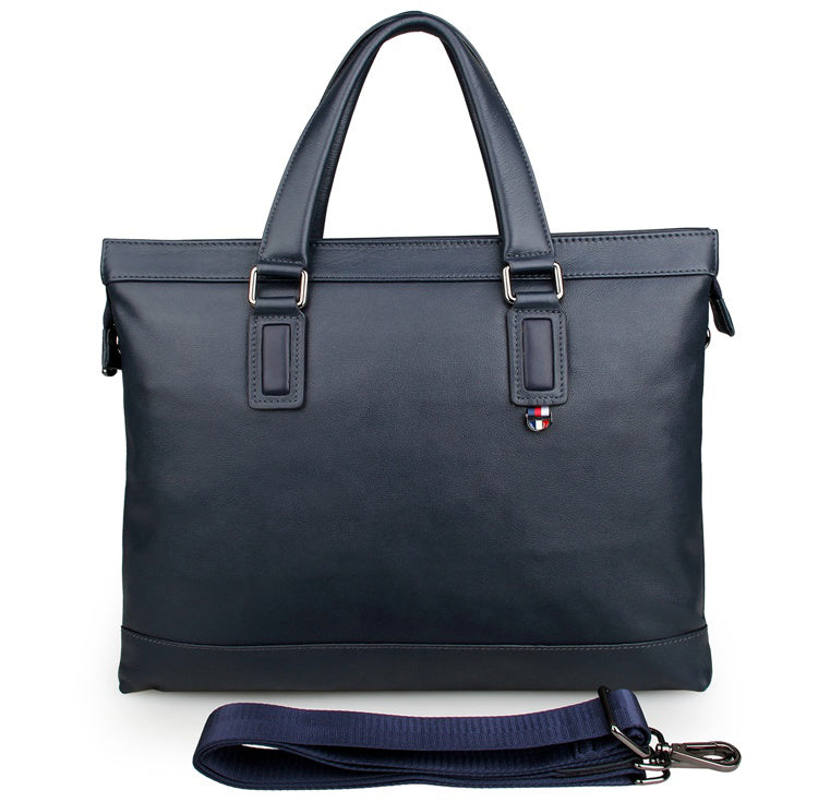 Opus Leather Laptop Briefcase